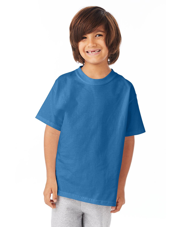 Hanes Youth Authentic-T T-Shirt DENIM BLUE