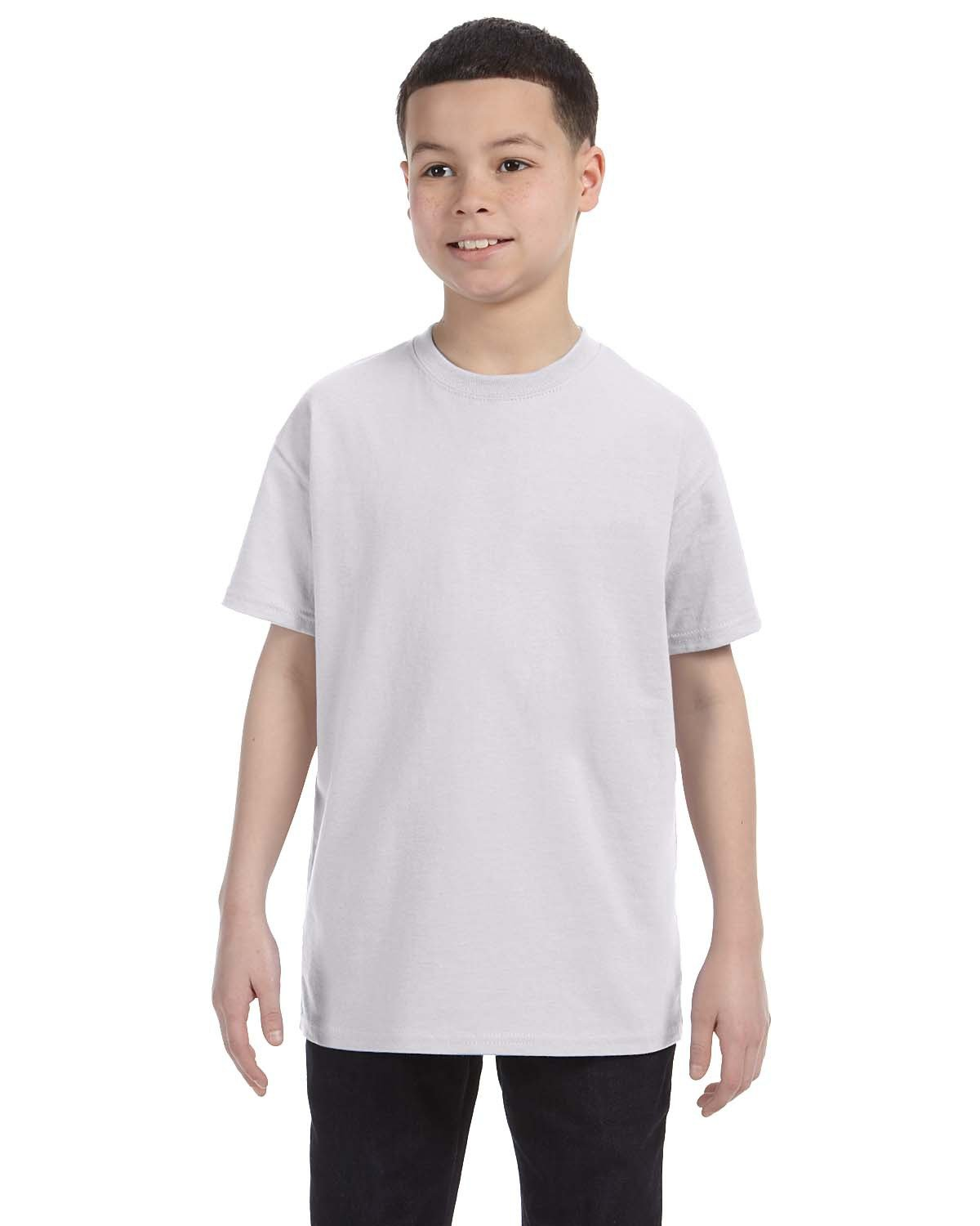 Hanes Youth Authentic-T T-Shirt ASH