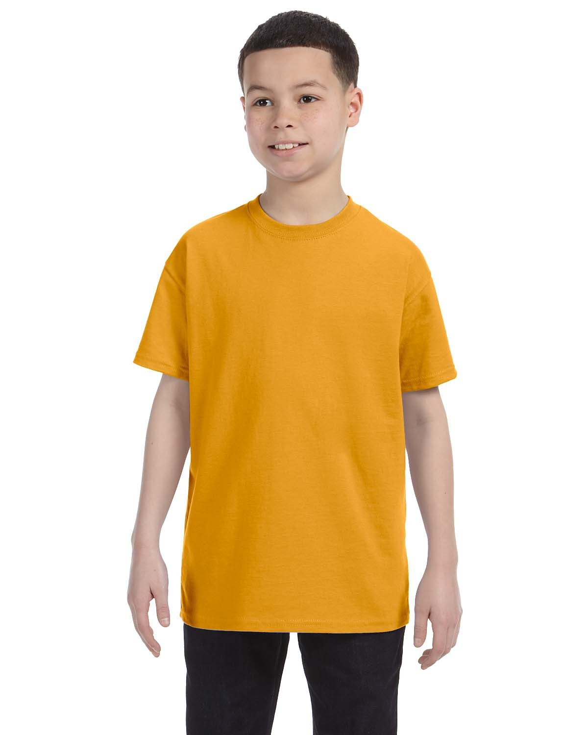 Hanes Youth Authentic-T T-Shirt GOLD