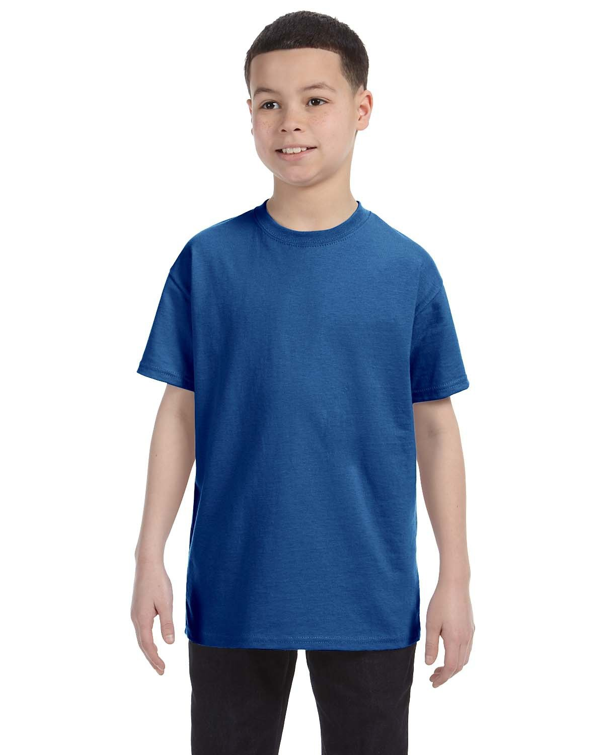 Hanes Youth Authentic-T T-Shirt DEEP ROYAL