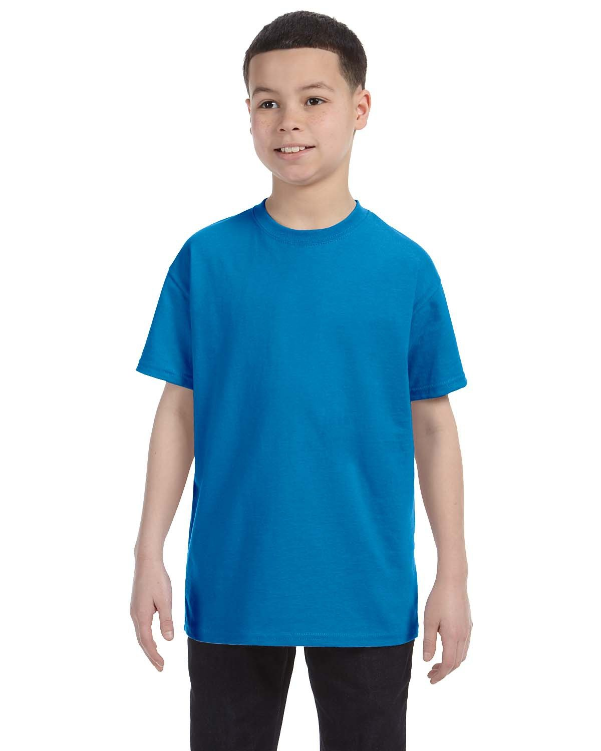 Hanes Youth Authentic-T T-Shirt SAPPHIRE