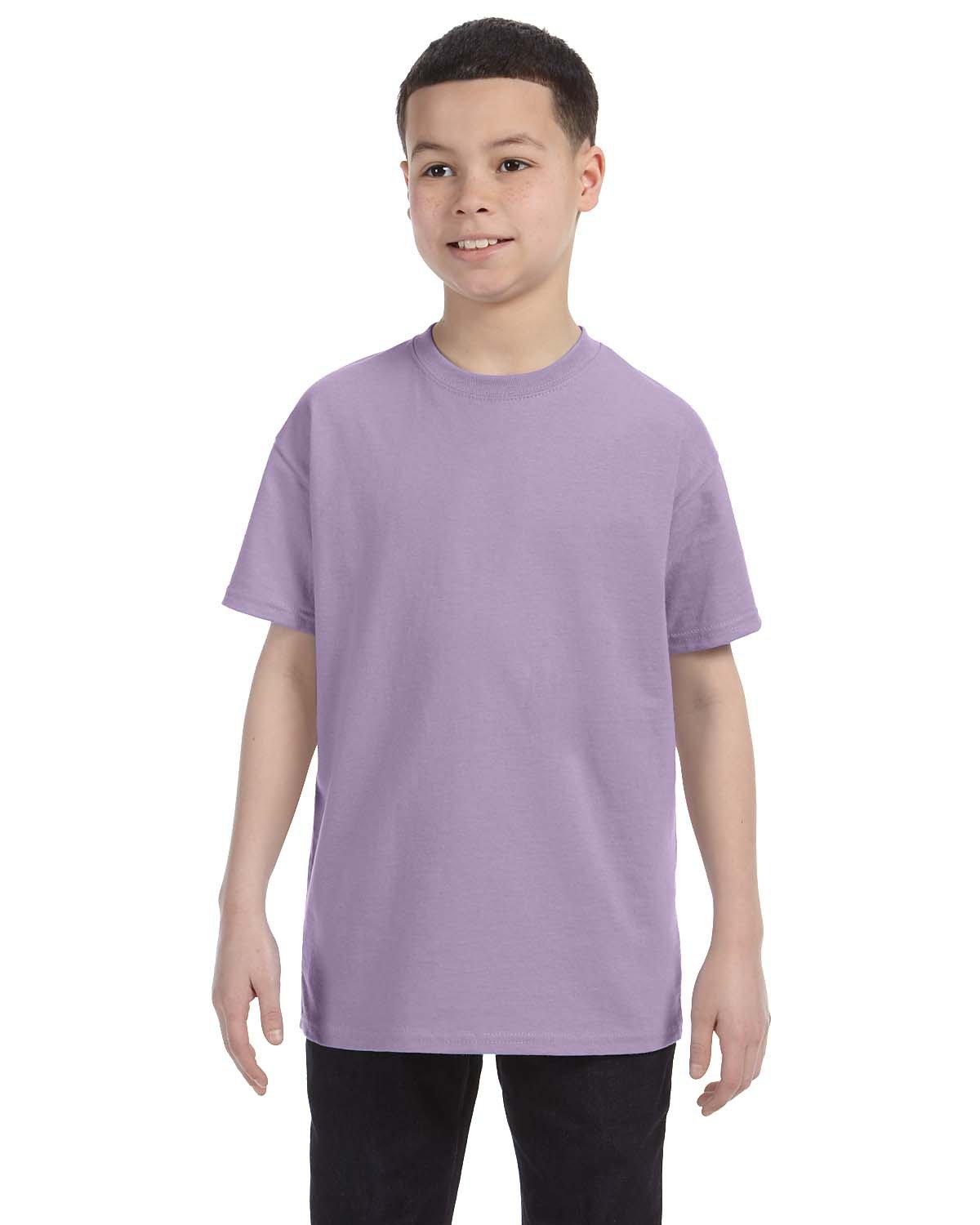 Hanes Youth Authentic-T T-Shirt LAVENDER