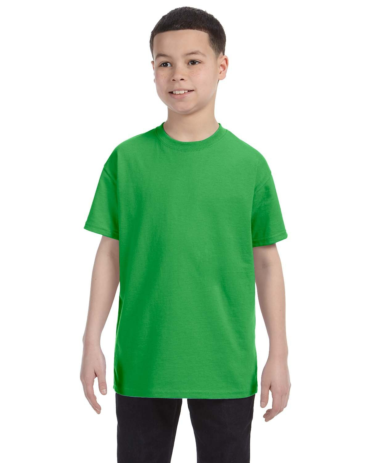 Hanes Youth Authentic-T T-Shirt SHAMROCK GREEN
