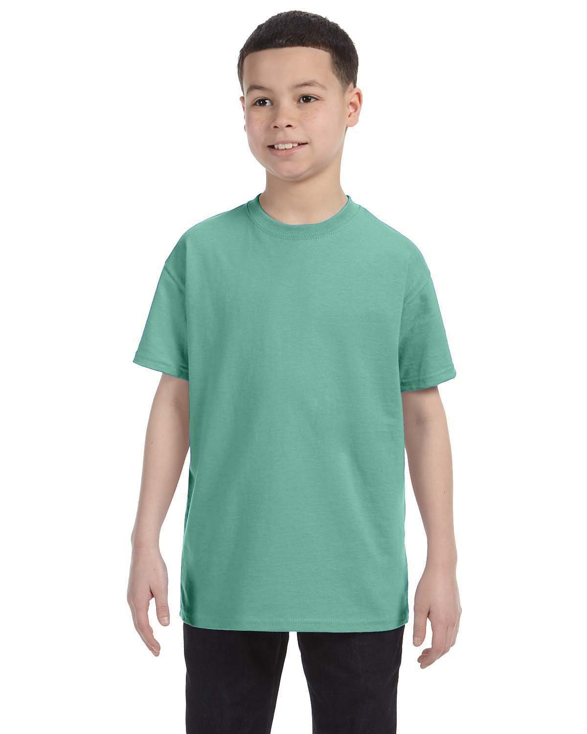 Hanes Youth Authentic-T T-Shirt CLEAN MINT
