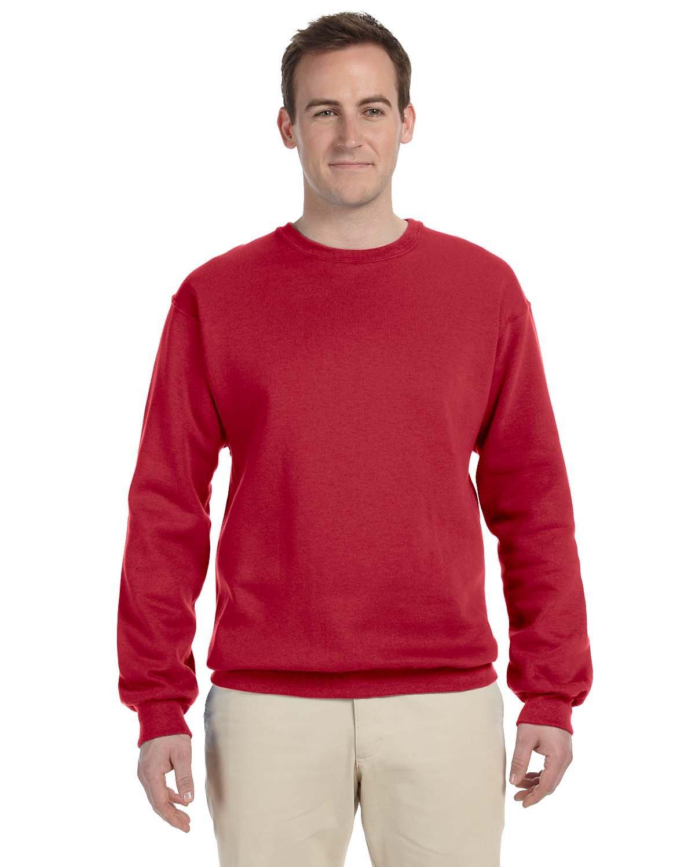 Jerzees Adult NuBlend® FleeceCrew TRUE RED