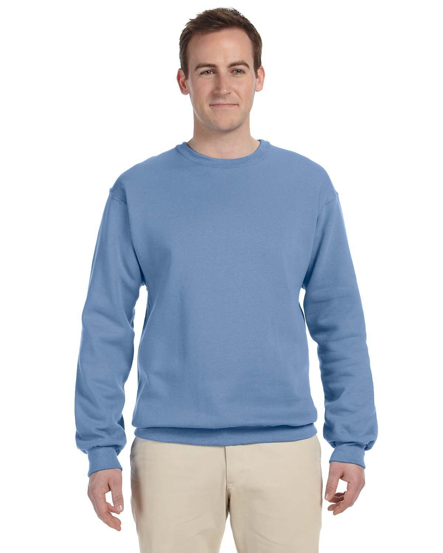 Jerzees Adult NuBlend® FleeceCrew LIGHT BLUE
