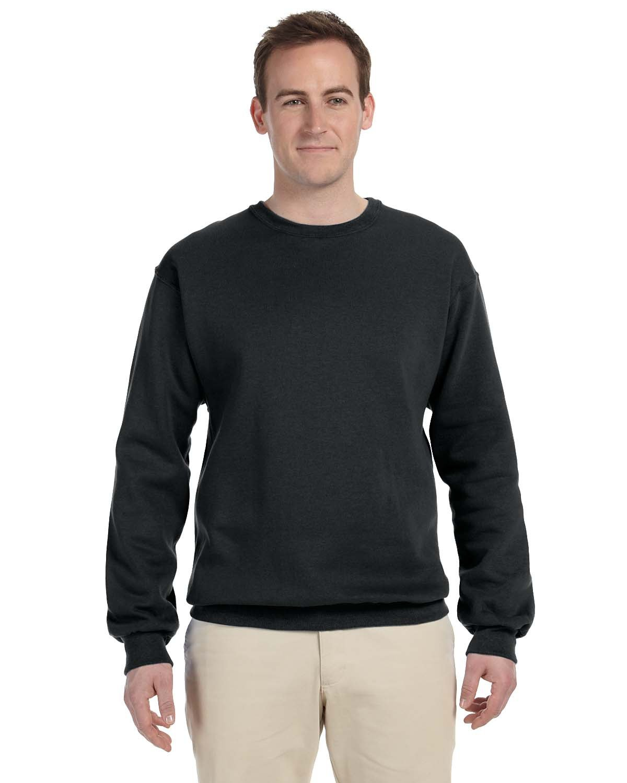 Jerzees Adult NuBlend® FleeceCrew BLACK
