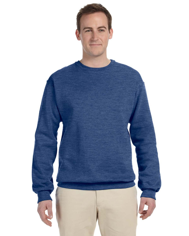 Jerzees Adult NuBlend® FleeceCrew VINTAGE HTH BLUE