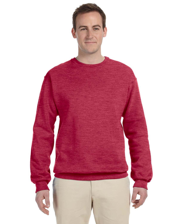 Jerzees Adult NuBlend® FleeceCrew VINTAGE HTH RED