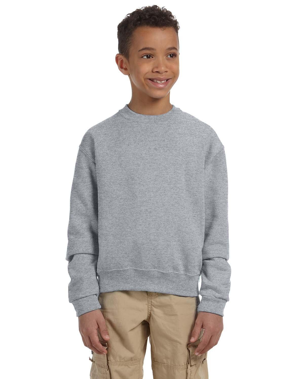 Jerzees Youth NuBlend® Fleece Crew OXFORD