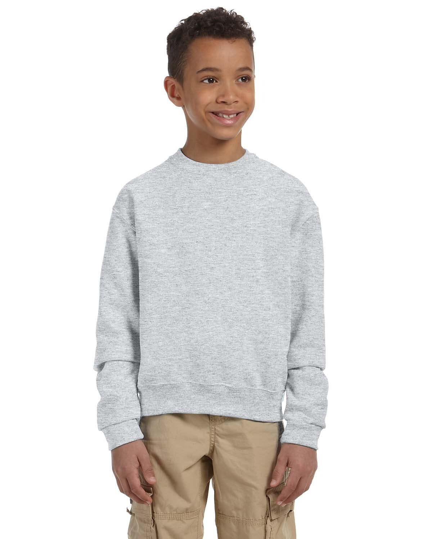 Jerzees Youth NuBlend® Fleece Crew ASH