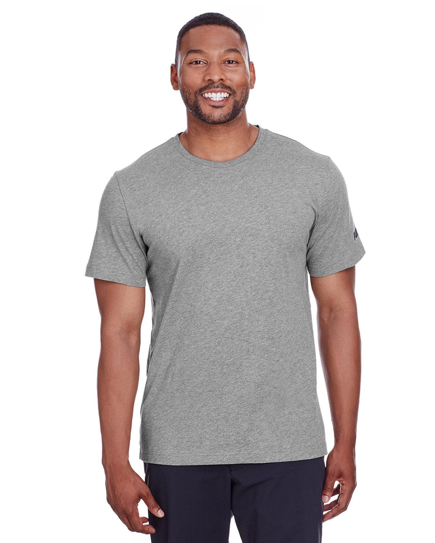 Puma Sport Adult Puma Essential Logo T-Shirt MD GY HTH/ P BLK
