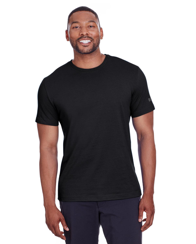 Puma Sport Adult Puma Essential Logo T-Shirt PMA BLK/ QUT SHD