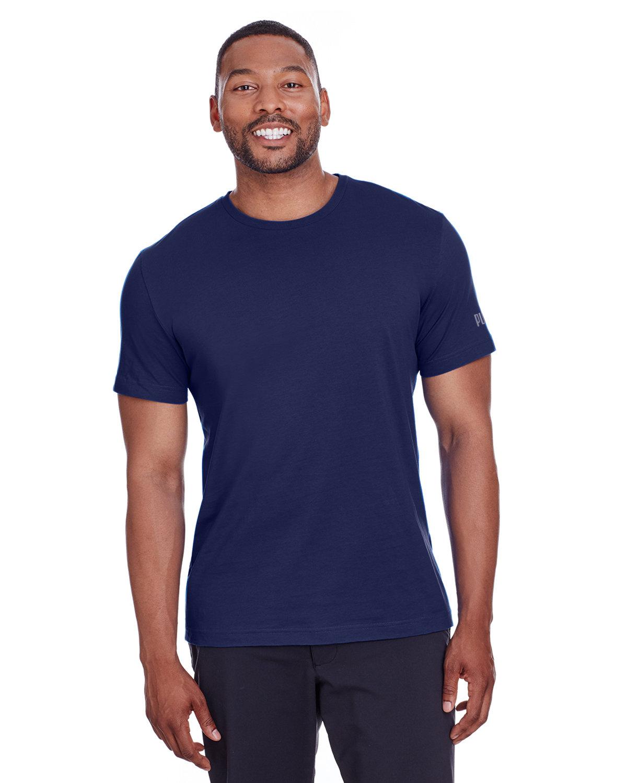 Puma Sport Adult Puma Essential Logo T-Shirt PEACOAT/ QUT SHD