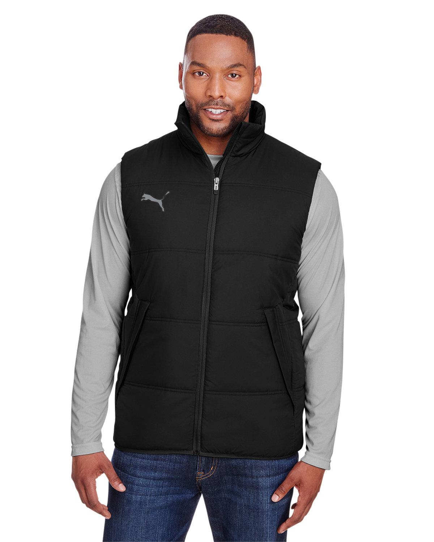 Puma Sport Adult Essential Padded Vest PMA BLK/ QUT SHD