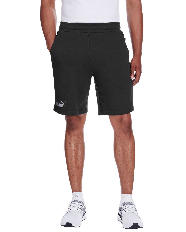 Puma Sport Adult Essential Sweat Bermuda Short PMA BLK/ SMK PRL