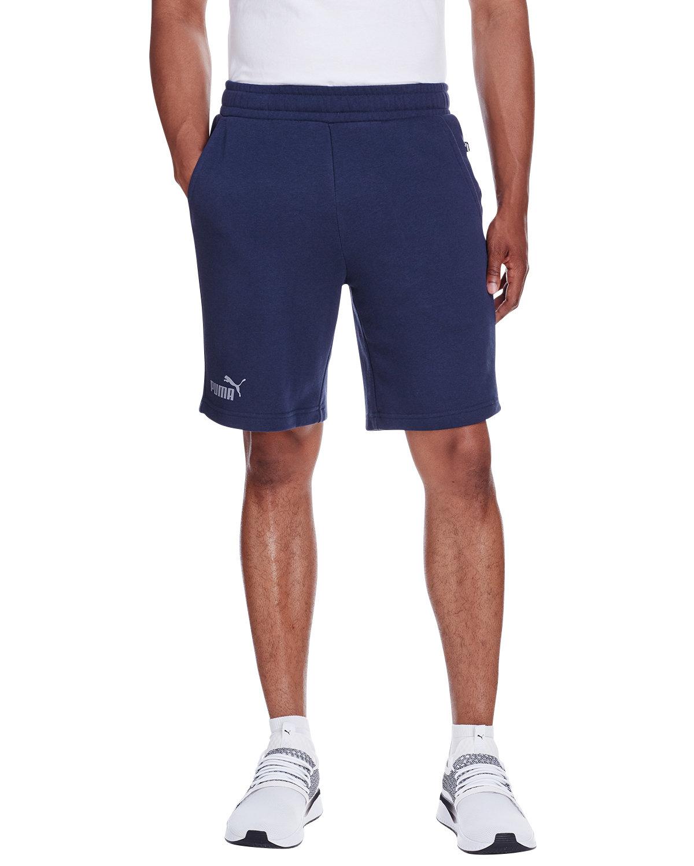 Puma Sport Adult Essential Sweat Bermuda Short PEACOAT/ QUT SHD