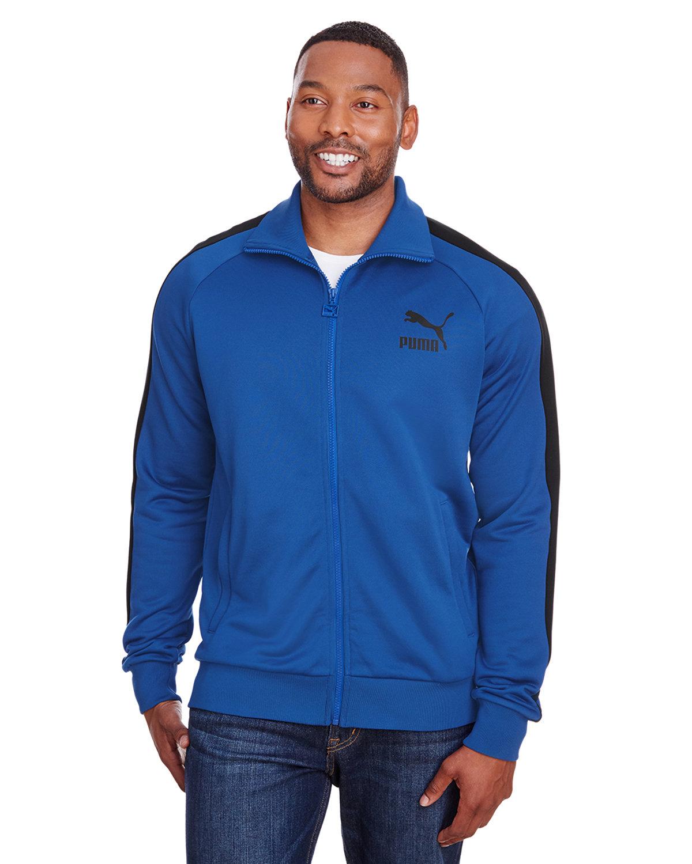 Puma Sport Adult Iconic T7 Track Jacket GLXY BLUE/ P BLK