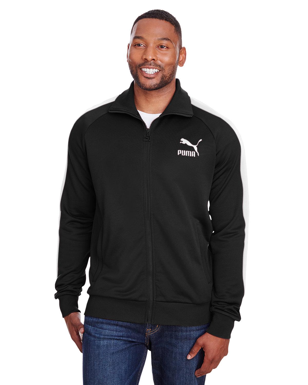 Puma Sport Adult Iconic T7 Track Jacket PMA BLK/ PMA WHT