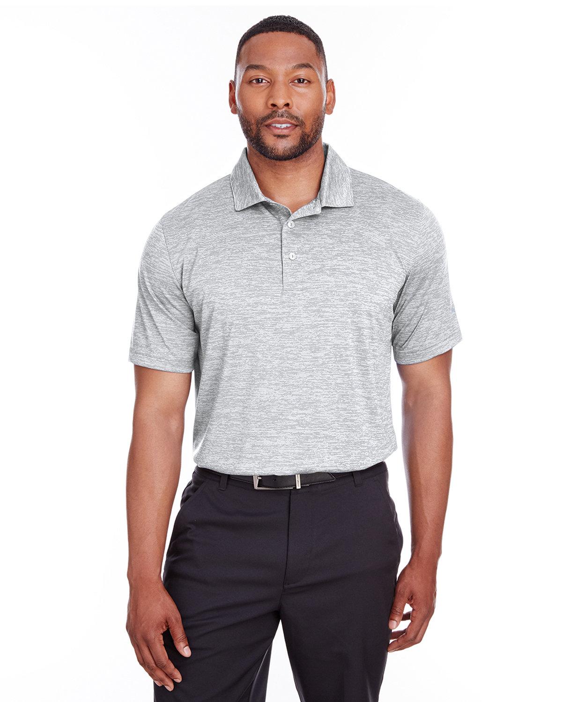 Puma Golf Men's Icon Heather Polo BRIGHT WHITE