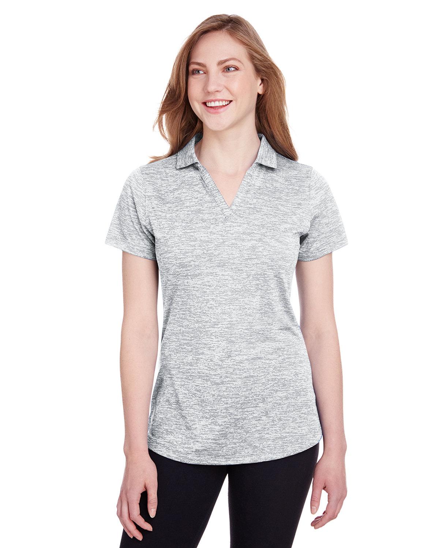 Puma Golf Ladies' Icon Heather Polo BRIGHT WHITE