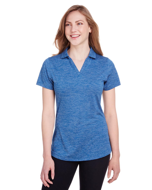 Puma Golf Ladies' Icon Heather Polo LAPIS BLUE