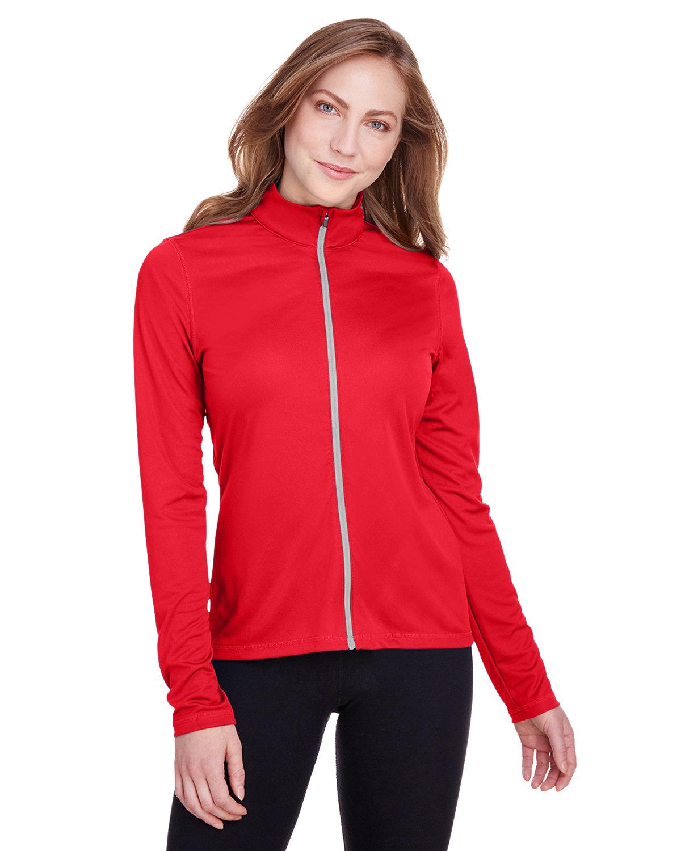 Puma Golf Ladies' Icon Full-Zip HIGH RISK RED