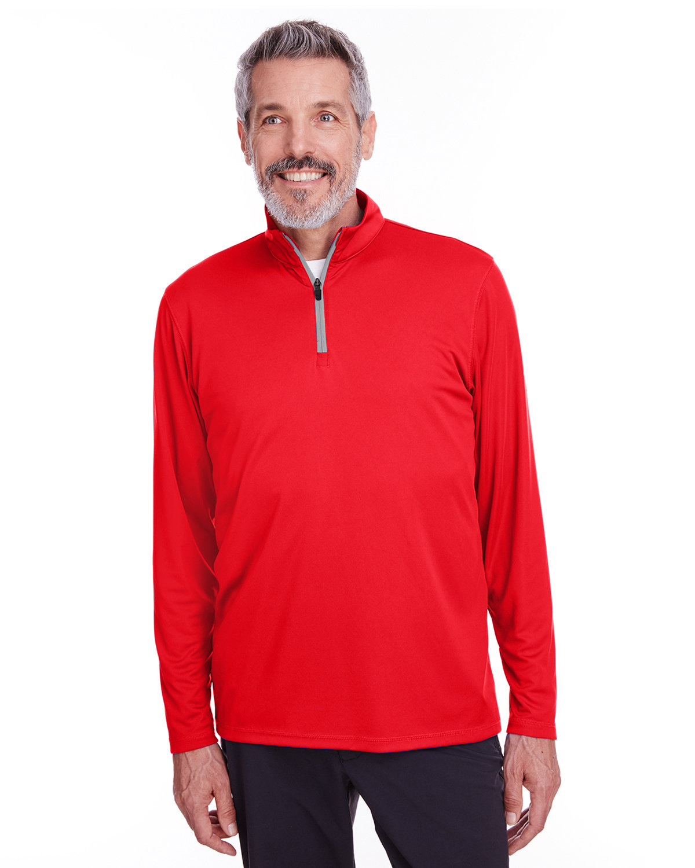 Puma Golf Men's Icon Quarter-Zip HIGH RISK RED