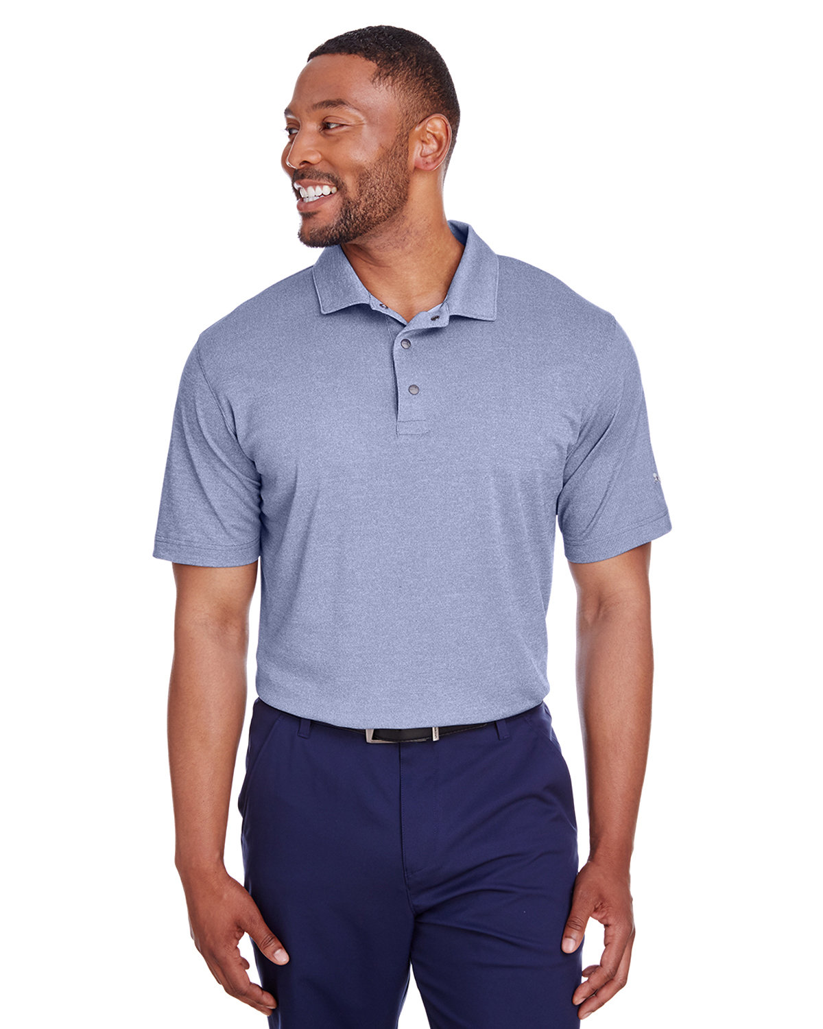 Puma Golf Men's Grill-To Green Polo SURF THE WEB HTH