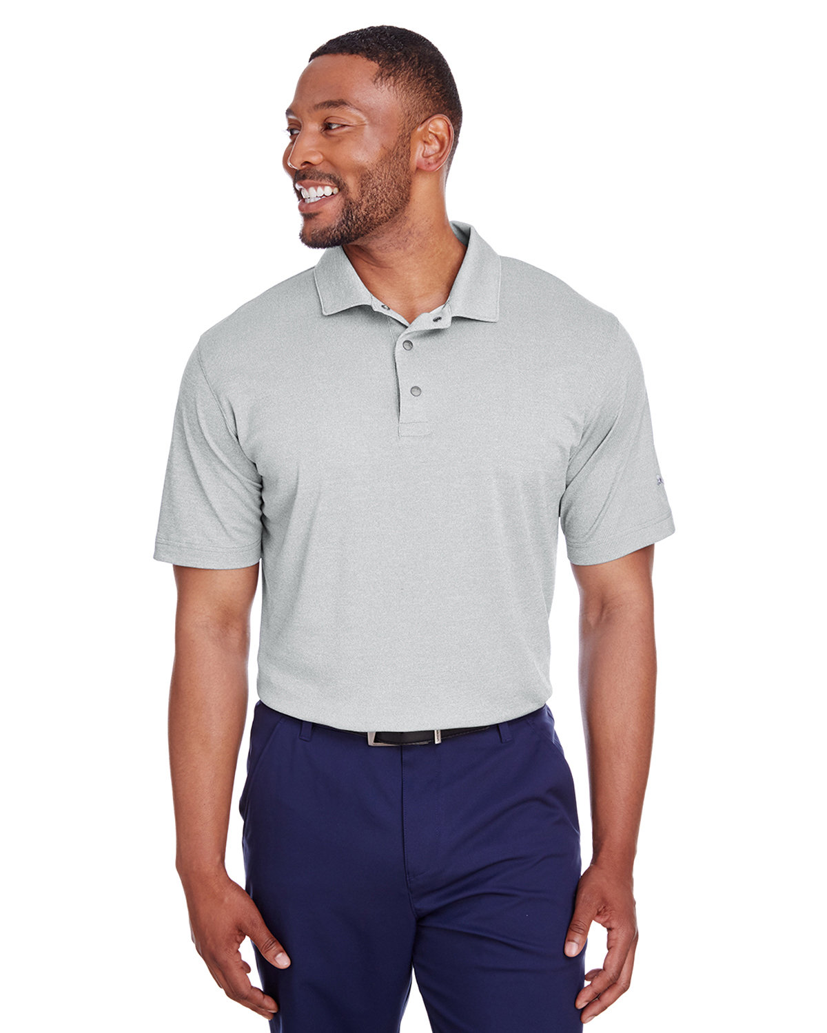 Puma Golf Men's Grill-To Green Polo QUARRY HEATHER