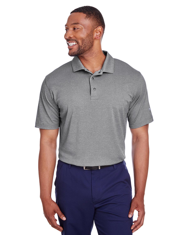 Puma Golf Men's Grill-To Green Polo PUMA BLACK HTHR