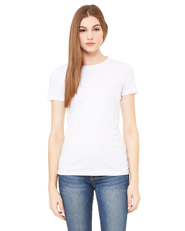 Bella + Canvas Ladies' Slim Fit T-Shirt WHITE