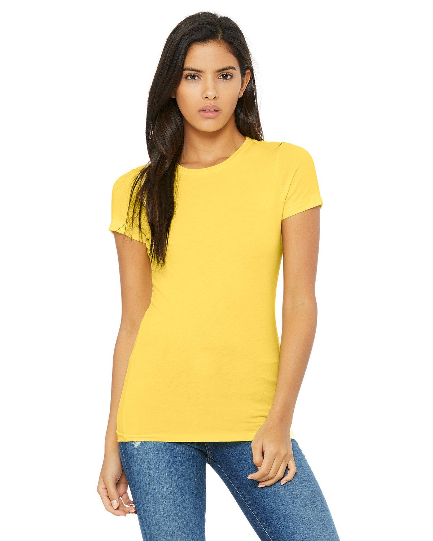 Bella + Canvas Ladies' Slim Fit T-Shirt YELLOW