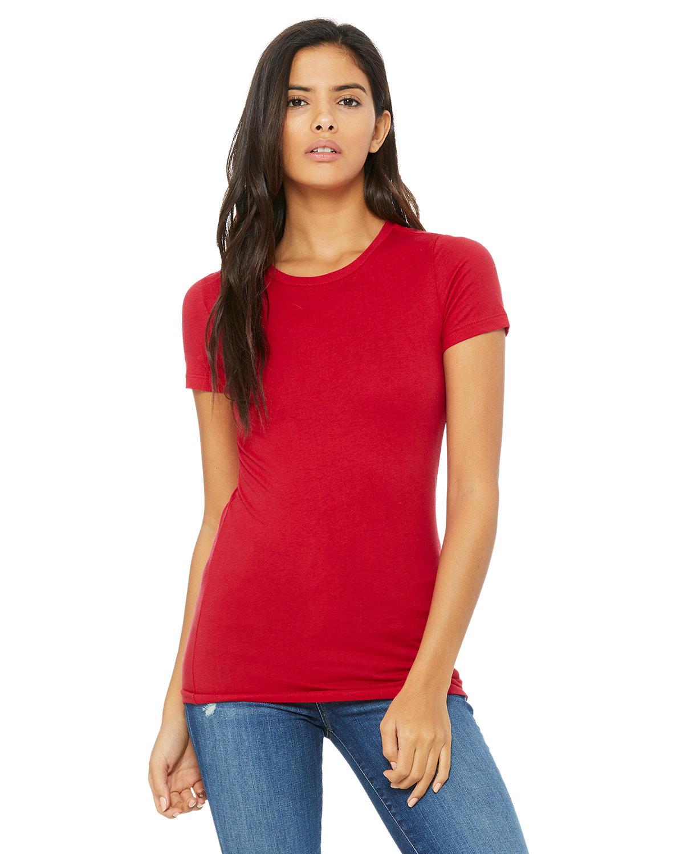 Bella + Canvas Ladies' Slim Fit T-Shirt RED