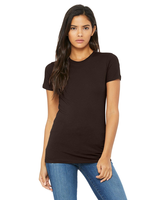 Bella + Canvas Ladies' Slim Fit T-Shirt BROWN