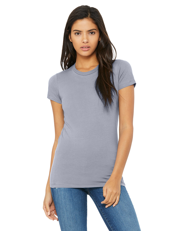 Bella + Canvas Ladies' Slim Fit T-Shirt HEATHER BLUE