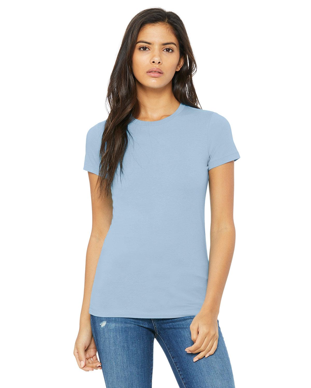 Bella + Canvas Ladies' Slim Fit T-Shirt BABY BLUE