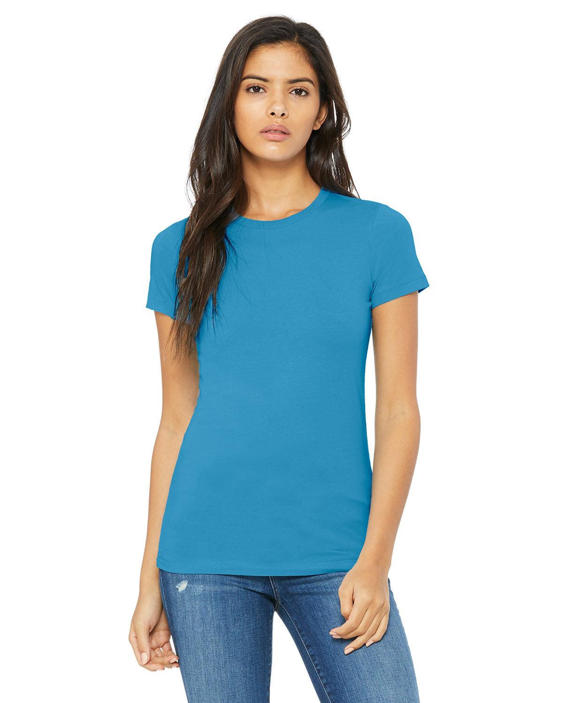 Bella + Canvas Ladies' Slim Fit T-Shirt AQUA