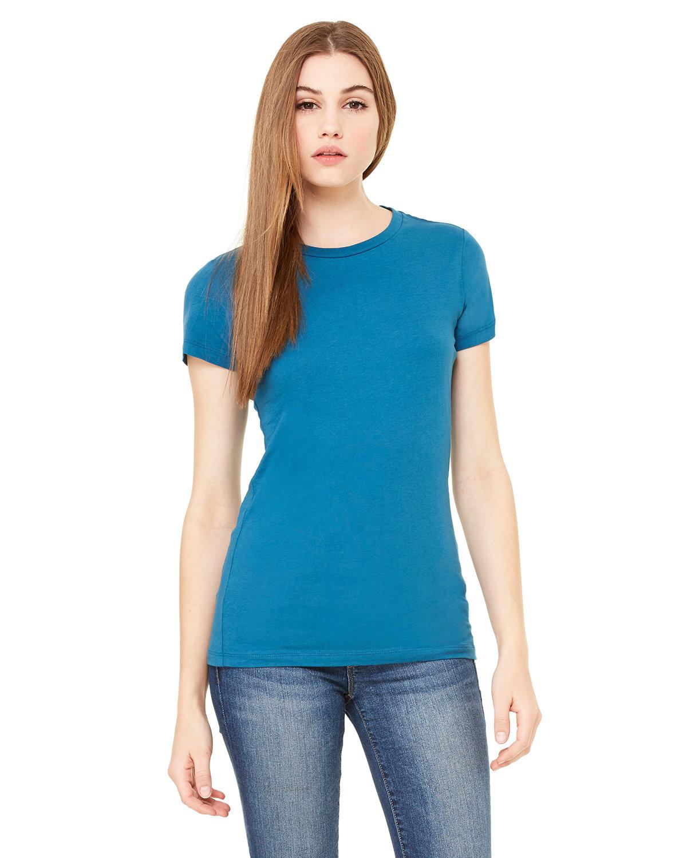 Bella + Canvas Ladies' Slim Fit T-Shirt DEEP TEAL