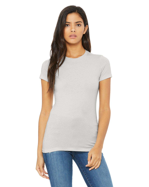 Bella + Canvas Ladies' Slim Fit T-Shirt SILVER