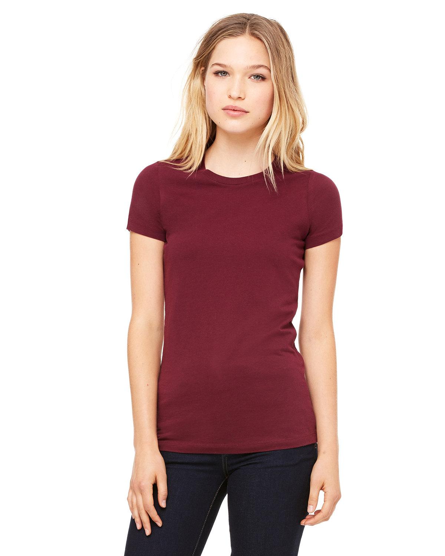 Bella + Canvas Ladies' Slim Fit T-Shirt MAROON