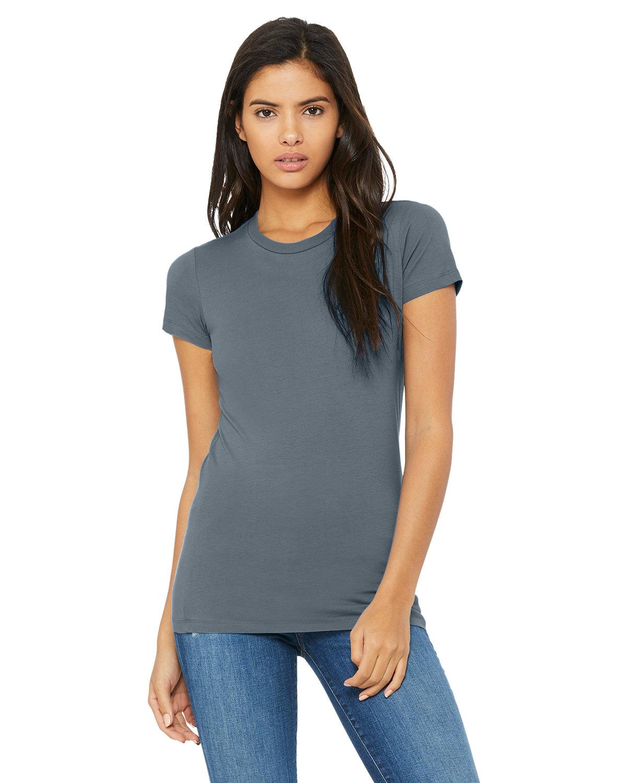 Bella + Canvas Ladies' Slim Fit T-Shirt STEEL BLUE