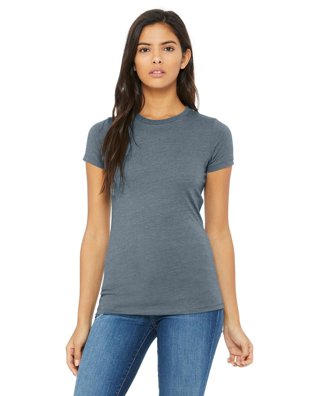 Bella + Canvas Ladies' Slim Fit T-Shirt HEATHER SLATE