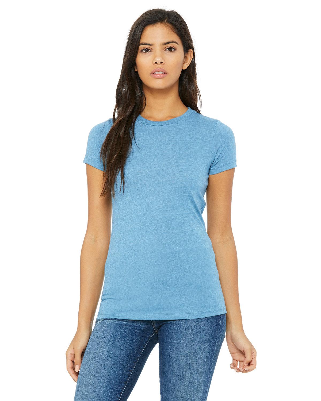 Bella + Canvas Ladies' Slim Fit T-Shirt OCEAN BLUE