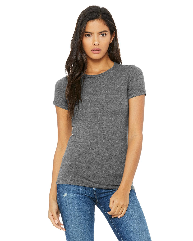 Bella + Canvas Ladies' Slim Fit T-Shirt DEEP HEATHER