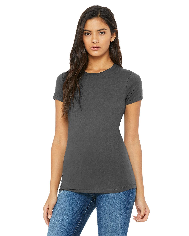 Bella + Canvas Ladies' Slim Fit T-Shirt ASPHALT