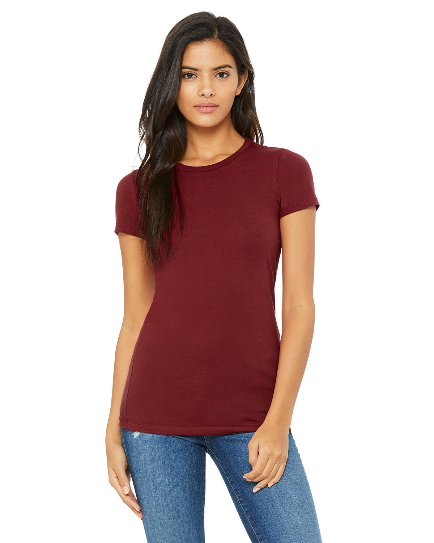 Bella + Canvas Ladies' Slim Fit T-Shirt CARDINAL