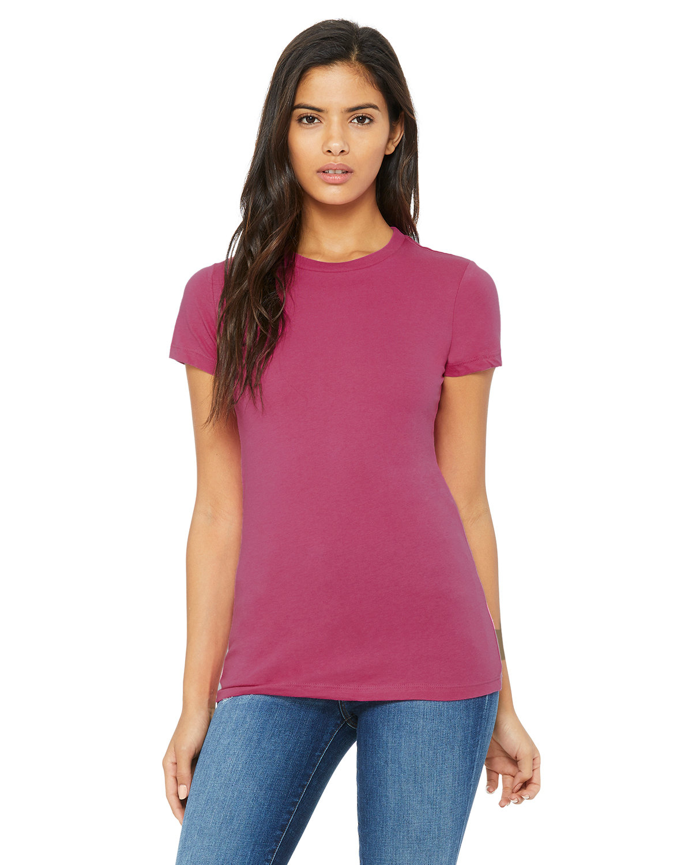 Bella + Canvas Ladies' Slim Fit T-Shirt BERRY