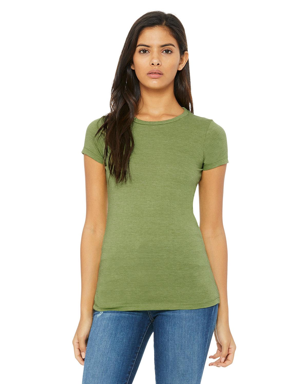 Bella + Canvas Ladies' Slim Fit T-Shirt HEATHER GREEN