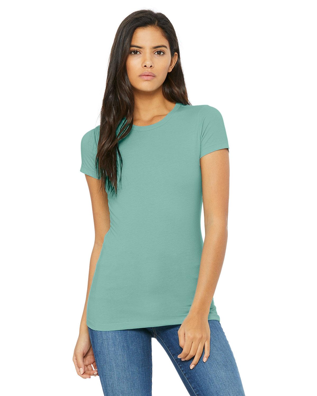 Bella + Canvas Ladies' Slim Fit T-Shirt SEAFOAM BLUE